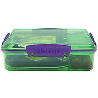 Sistema® Snack Attack Duo