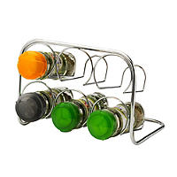 Hahn Pisa 6 Jar Spice Rack
