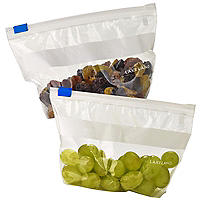 24 Zip-Seal Food Freezer Bags (16.5 x 10.5cm)