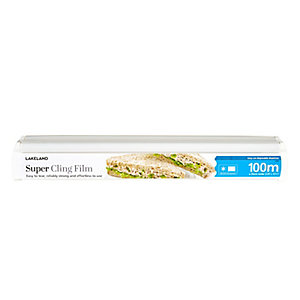 Lakeland Super Cling Film in Dispenser, 35cm x 100m