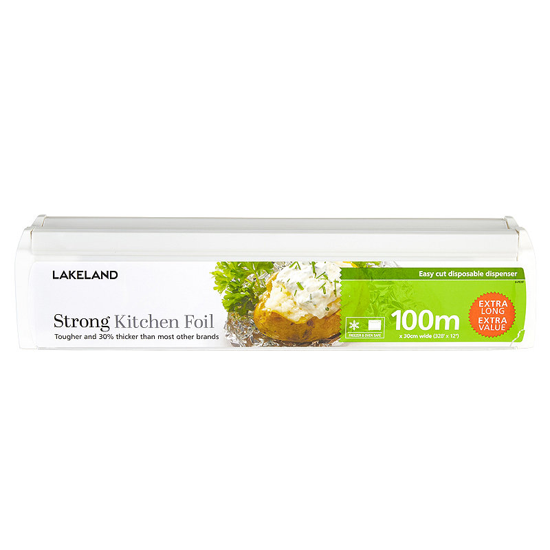 Strong Kitchen Foil in Dispenser 30cm x 100m