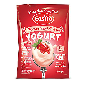 EasiYo™ Strawberries & Cream Sachet