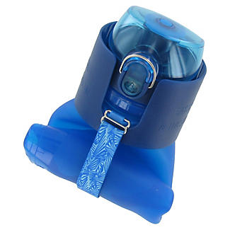 500ml Silicone Water Bottle - Blue alt image 2