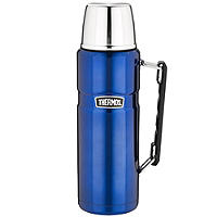 Thermos King Large Blue Flask