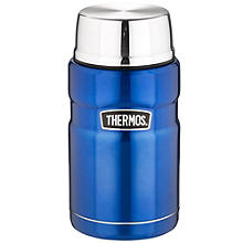 Thermos King Large Blue Food Flask