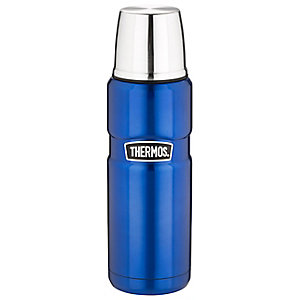 Thermos King Small Blue Flask