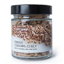 Cake Decorating Sprinkles - 60g Chocolate & Caramel Curls