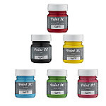 6 Edible Cake Decorating Colourful Food Paints (6 x 25ml)