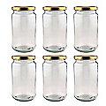 6 16oz Traditional Pickling Jars