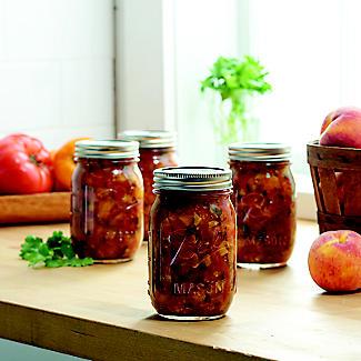 6 Ball® Mason Standard Glass Jam Jars & Lids 490ml alt image 2