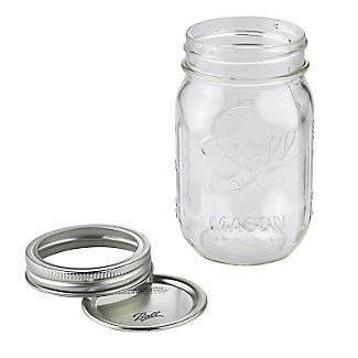 6 Ball® Mason Standard Glass Jam Jars & Lids 490ml alt image 3