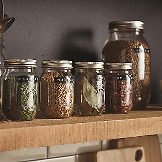 6 Ball® Mason Standard Glass Jam Jars & Lids 490ml alt image 5