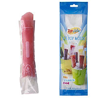 18 Zipzicles® Reusable Ice Pop Lolly Moulds