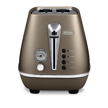 Delonghi Distinta Future Bronze 2 Slice Toaster