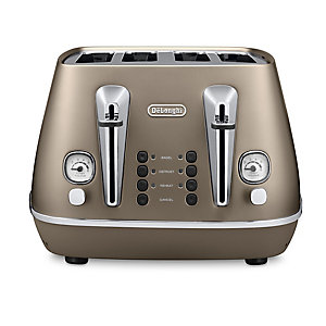 Delonghi Distinta Future Bronze 4 Slice Toaster