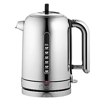 Dualit Classic Polished Kettle 1.7L - Rapid & Whisper Boil 72815
