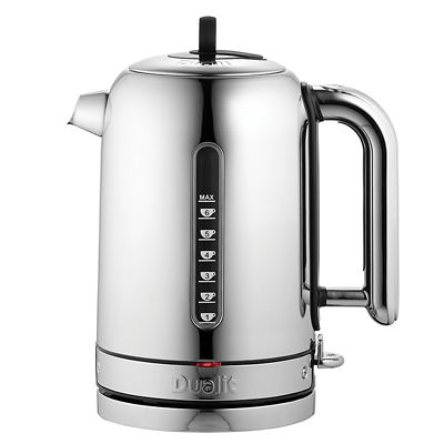 Dualit Classic Polished Kettle 1.7L  Rapid & Whisper Boil 72815