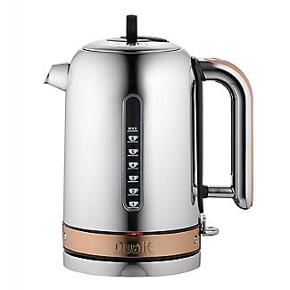 Dualit Classic Copper Kettle 1.7L - Rapid & Whisper Boil 72820 alt image 1