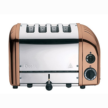 Dualit Classic Copper 4 Slice Toaster