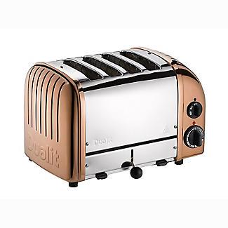 Dualit Classic Copper 4 Slice Toaster 47450 alt image 2