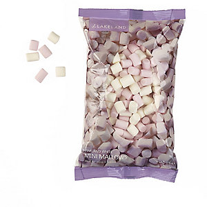 Cake Decorating Sprinkles - 150g Pink & White Mini Marshmallows