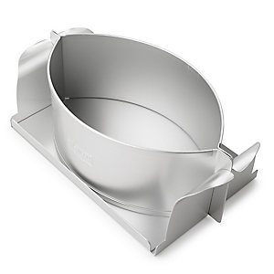 Silverwood Oval Raised Pie Tin