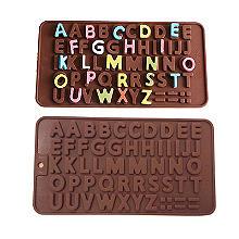 Silikonform für Schokoladenalphabet