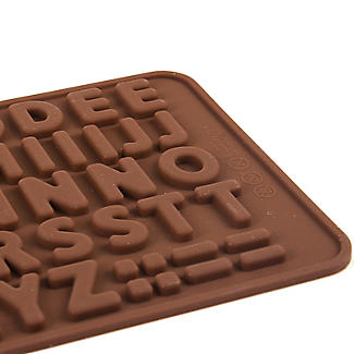 Alphabet Letters Silicone Chocolate Mould alt image 2