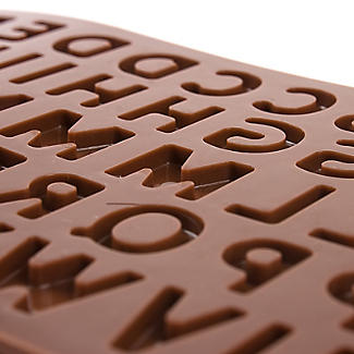 Alphabet Letters Silicone Chocolate Mould alt image 3
