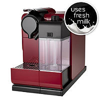 De'longhi Nespresso® Latissima Touch Red Coffee Pod Machine EN550R