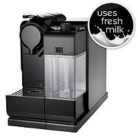 Delonghi Nespresso® Latissima Touch Black Coffee Pod Machine