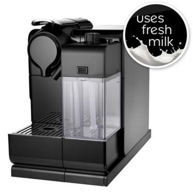 Delonghi Nespresso&174 Latissima Touch Black Coffee Pod Machine EN550B