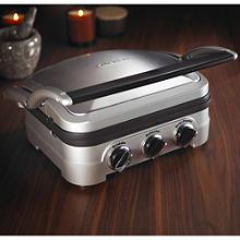 Cuisinart der Griddler Multifunktionsgrill mit 6 Garoptionen  Cuisinart Grill mit Kochplatte GR4CU