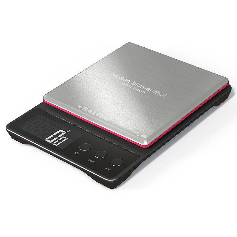 Heston Precision Flat Digital Kitchen Weighing Scale