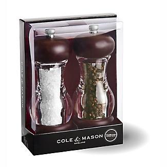 Cole & Mason Forest Grinder Mill - Salt & Pepper Set Ready Filled alt image 5