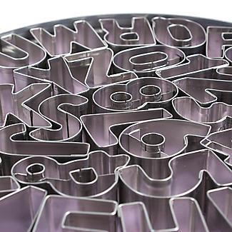 Alphabet & Numbers Cutter Set alt image 2