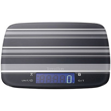 Terraillon® My Cook 15 Jam Flat Digital Kitchen Weighing Scale