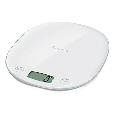 Terraillon Macaron Flat Digital Kitchen Weighing Scale