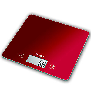 Terraillon T1040 Flat Digital Kitchen Weighing Scale
