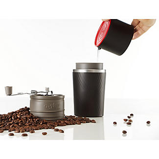 Cafflano Klassic Bean To Cup Manual Portable Coffee Mug alt image 2