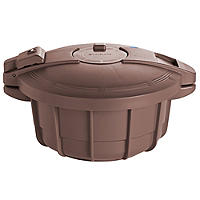 Microwave Cookware - Brown Pressure Cooker 2.2L