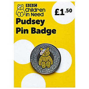 Pudsey Pin Badge