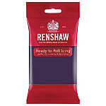 Renshaw Ready to Roll Coloured Icing - 250g Purple