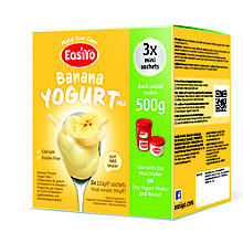 Easiyo Banane Joghurt Mix 3 x 115 g.