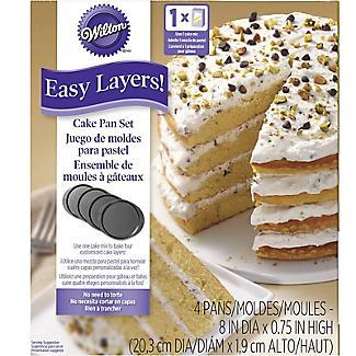 Wilton Easy Layer 20cm Cake Pan Set alt image 6