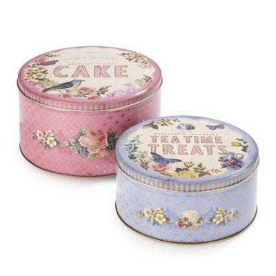 2 nostalgia cake tins in cake tins at lakeland. Black Bedroom Furniture Sets. Home Design Ideas
