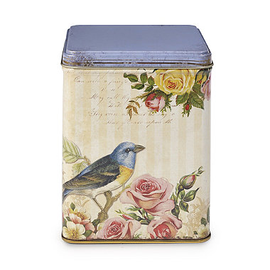Nostalgia Caddy Vintage Cake & Biscuit Food Storage Tin