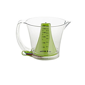 Reverso Plus Measuring Jug 500ml & 5 Measuring Spoons Set