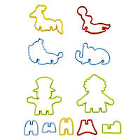 3D Circus Cookie Cutters