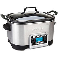 Crock-Pot 5.6L Family Multi & Slow Cooker CSC024